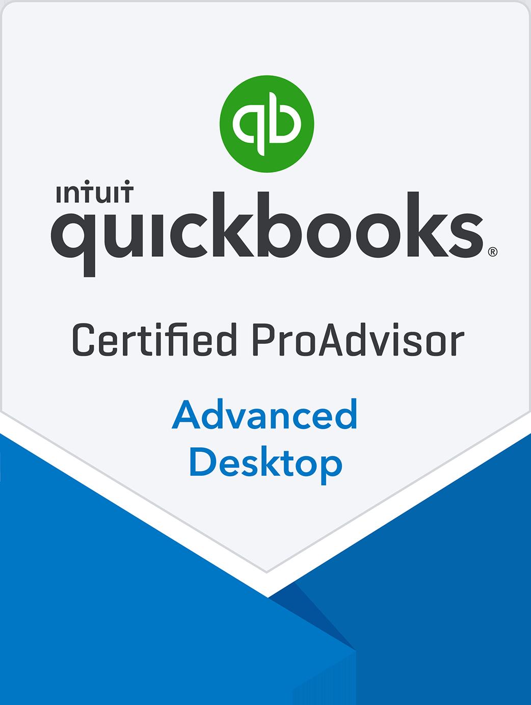 Certified QuickBooks Advanced ProAdvisor