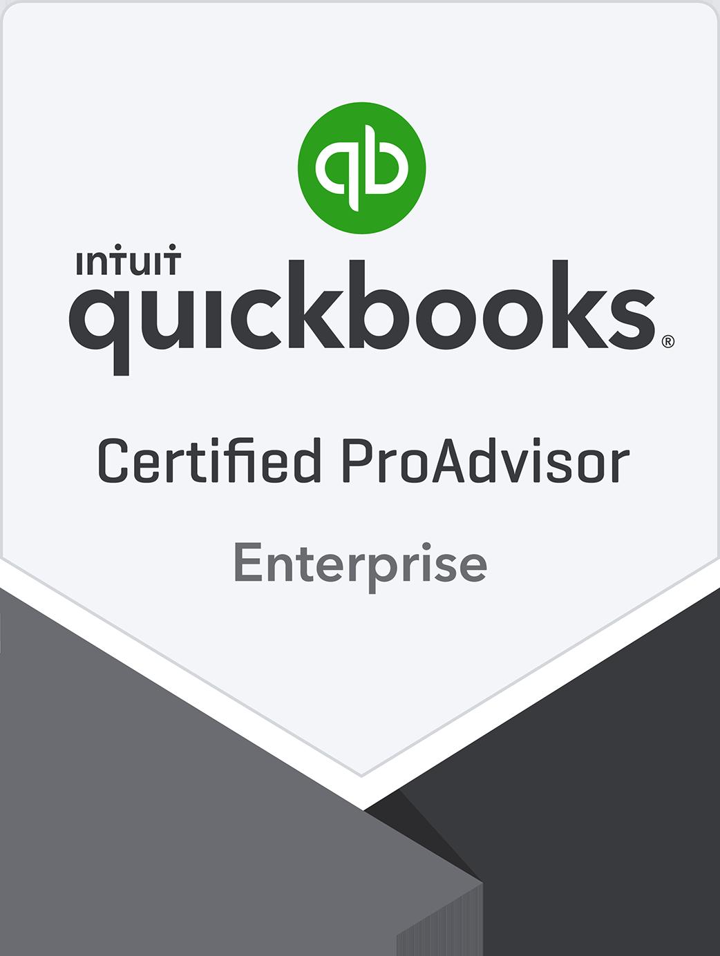Certified QuickBooks Enterprise Solutions ProAdvisor